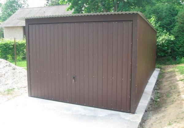 STALBLACH – garaż, blaszak na budowę